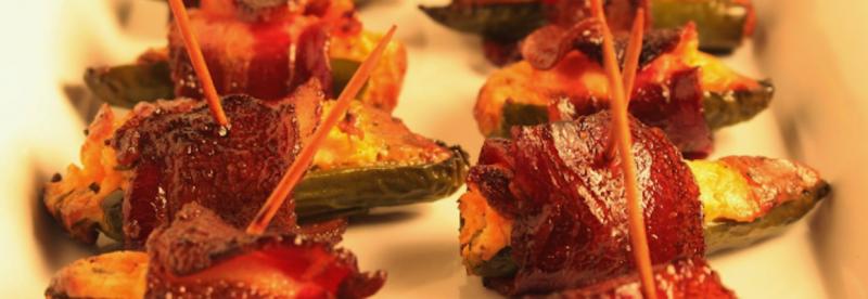 Stuffed & Smoked Jalapeño Peppers